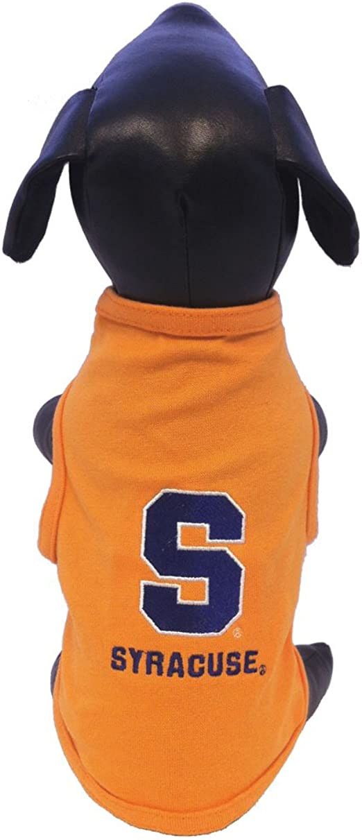 NCAA Syracuse Orange Cotton Lycra Dog Tank Top Small