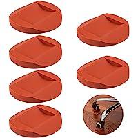 6 Stks Rubber Meubilair Caster Cups, AIFUDA Meubelonderzetters Anti-Sliding Floor Grip Vloerbeschermers voor Alle…