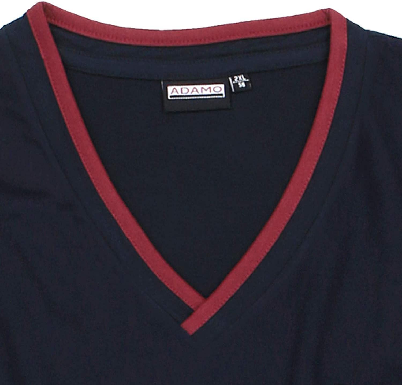 colore: blu scuro Camicia da notte a maniche corte serie Bert ADAMO da uomo taglia XXL