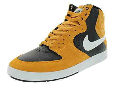 cb812ac82 Nike Men s Paul Rodriguez 7 High Laser Orange White Black Skate Shoe 10 Men