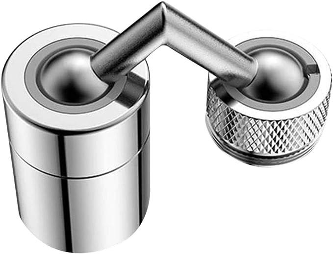 ZSDD Universeller Spritzfilterhahn 720 /° Drehbarer Wasserhahnspr/ühkopf mit Strapazierf/ähigem Kupfer Und Bauchmuskeln Spritzwassergesch/ützter Sauerstoffangereicherter Schaum