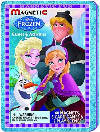 (Disneys Frozen Magnetic Games & Activities)