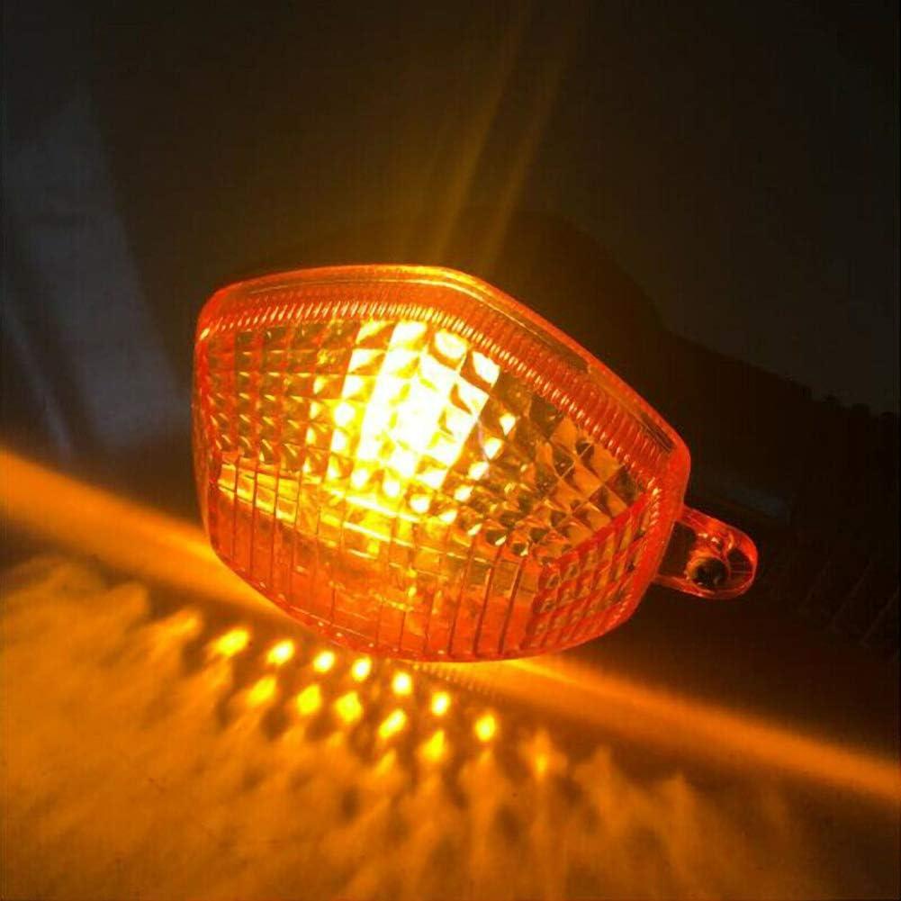 FUPOJW 650cc moto clignotants lampe 12v ambre clignotant lumi/ère universelle pour Suzuki dl650 dl1000 v-strom dl 650 1000