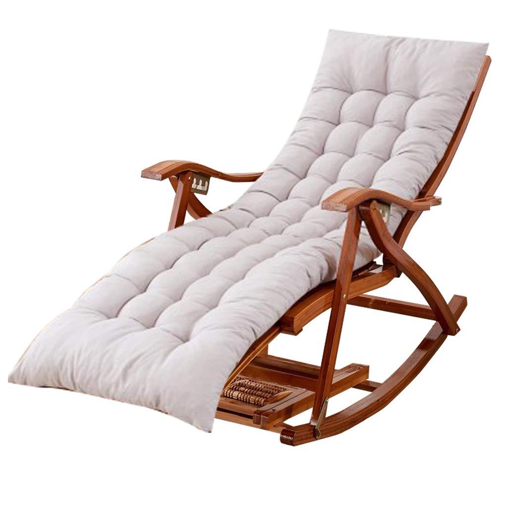 Amazon.com: LHNLY-Lounge - Silla mecedora para jardín al ...