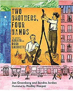 Book Cover: Two Brothers, Four Hands