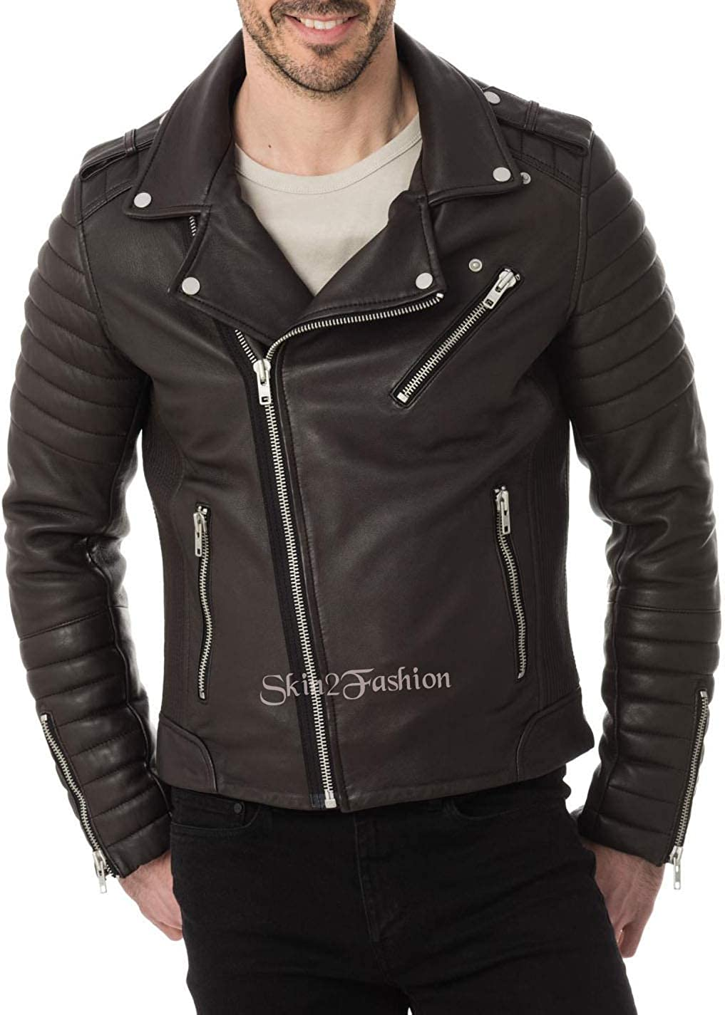 Skin2Fashion Mens Leather Jackets 230