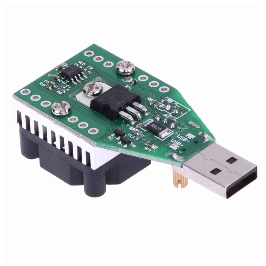 traline 15W USB Test Meter R/ésistance DC 3.7-13V R/églable Courant Constant /Électronique Load Loader Discharger Capacit/é
