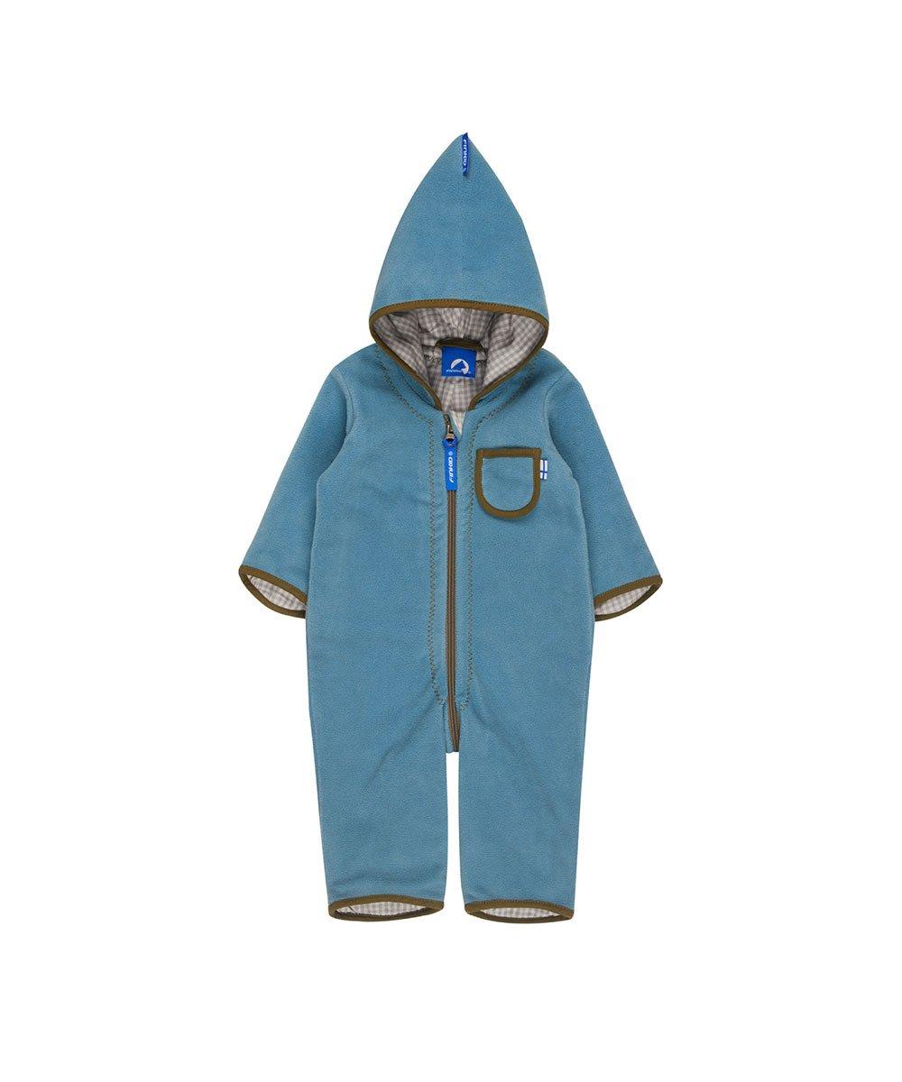 Finkid Puku smoke blue capers Kinder Fleece Overall 3070042