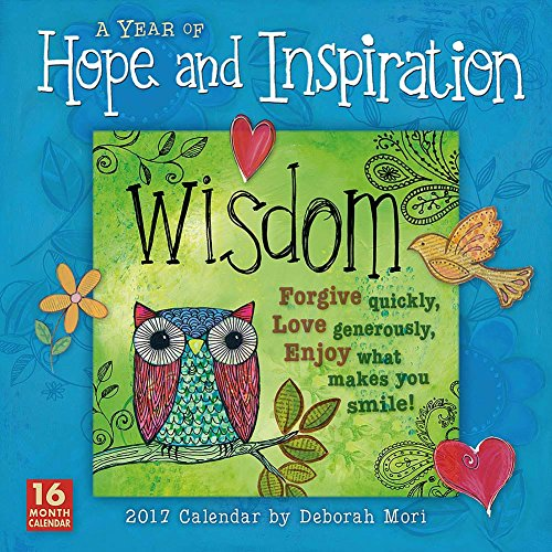A Year of Hope & Inspiration 2017 Wall Calendar