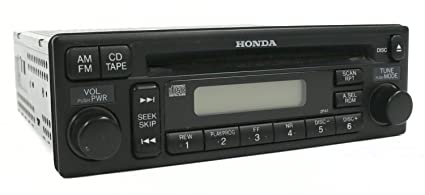 2001 Honda Accord Radio Code >> Amazon Com 1 Factory Radio 638 57769 Noa2 Am Fm Radio Cd