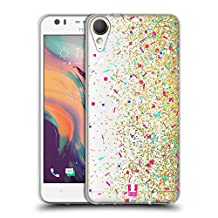 Head Case Designs Sparkle Confetti Soft Gel Case for HTC U Ultra / Ocean Note