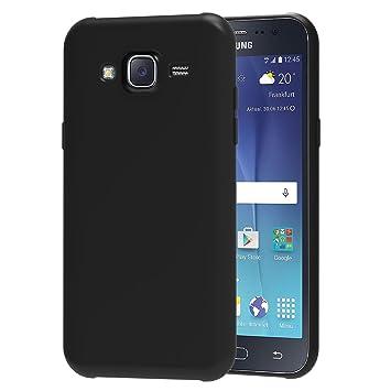 iVoler Funda Carcasa Gel Negro Compatible con Samsung Galaxy J5 2015, Ultra Fina 0,33mm, Silicona TPU de Alta Resistencia y Flexibilidad