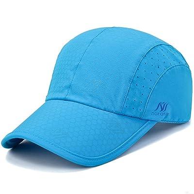 GADIEMKENSD Quick Dry Baseball Cap Waterproof Breathable Unstructured Sport Hats