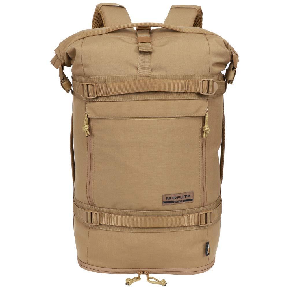 Norfuma Outdoor Tactical Hiking Camping Cycling Rack Bag Hydration Bag 36L-45L (Khaki) [並行輸入品] B07R4TKQKQ