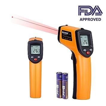 Laser Infrarot Thermometer Enshant Pyrometer Temperaturmessgerat