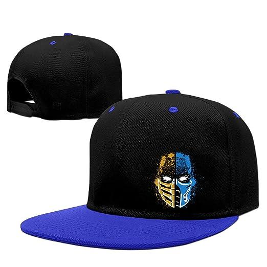 e86ff0a48a49e ADK Scorpion Vs Sub-Zero Mortal Kombat Outdoor Hip Hop Mountaineering  Cotton Cap Hat Adjustable
