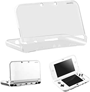 New 3DS XL/LL Case, Insten Ultra Clear Crystal Transparent [Soft TPU] Slim Fit Protective Case Cover Skin Compatible with New 2015 Nintendo 3DS XL/LL