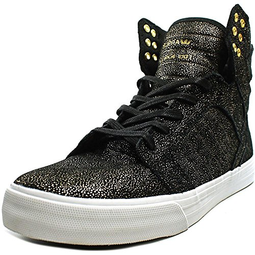 WHITE Black Womens Supra Skytop Size Black Shoes Blackfade BLACKGOLD wI8xOq