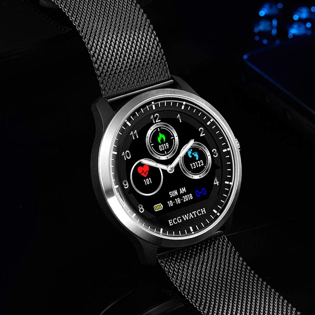 Diuspeed Sport Smart Watch, N58 ECG Sport Reloj IP67 Smart Pulsera con + electrocardiogramas PPG electrocardiogramas HRV de Informe de frecuencia cardíaca ...