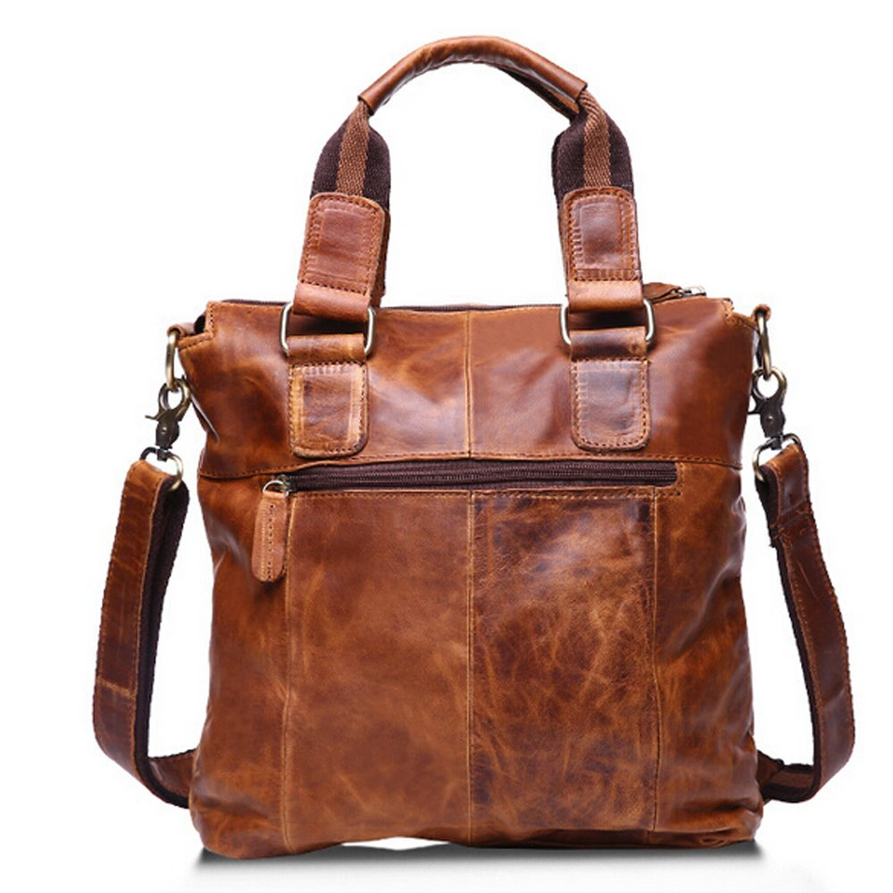 SEALINF Mens Retro Leather Handbag//Shoulder Messenger Bag Business Briefcase SF0061bgQZ