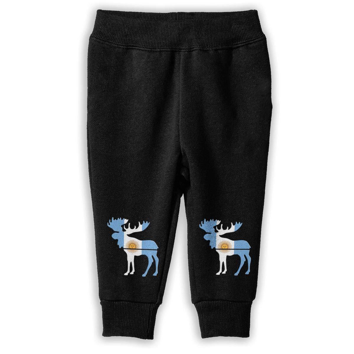 Kids /& Toddler Jogger Pants NJKM5MJ Moose Argentina Flag Sweatpants
