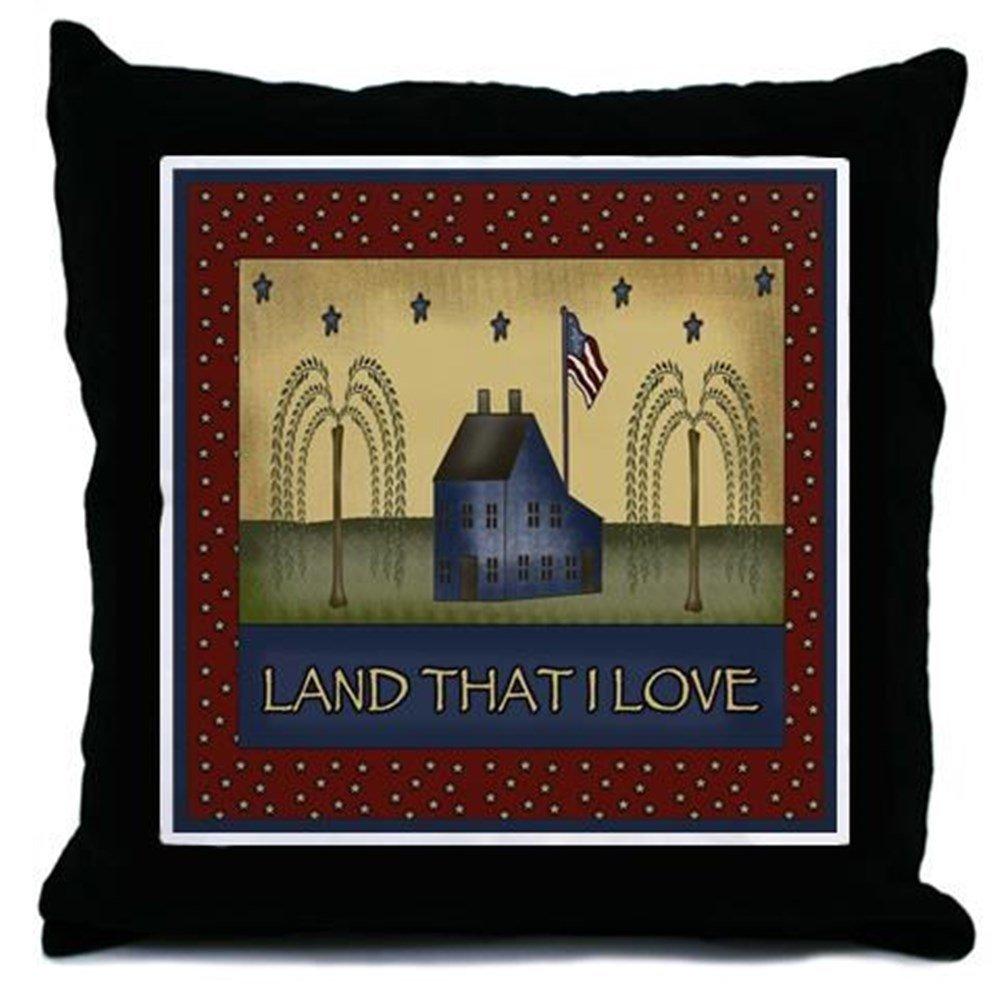 Amazoncom americana home decor - Amazon Com Cafepress Patriotic Americana Throw Pillow Decorative Accent Pillow Home Kitchen