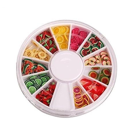 XCSSKG - Estuche de rodajas de Frutas Perfecto para Pegar a ...