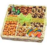 #10: Nuts, Caramels & Sweets Gift Basket - Perfect for Any Occasion