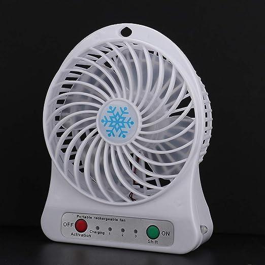 Mini Ventilador, Ventilador de Enfriamiento Recargable USB de ...