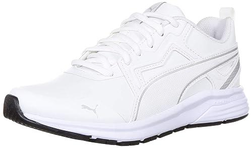 Pure Jogger Sl Jr White Silver Sneakers
