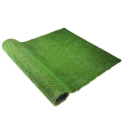 INTBUYING Lawn Synthetic Turf Artificial Grass for Garden/Home 6.5' X 4.9' : Garden & Outdoor