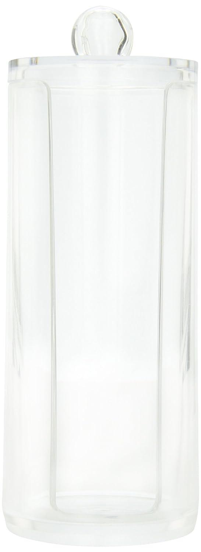 Danielle Cylinder Acrylic Cotton Pad Dispenser D318