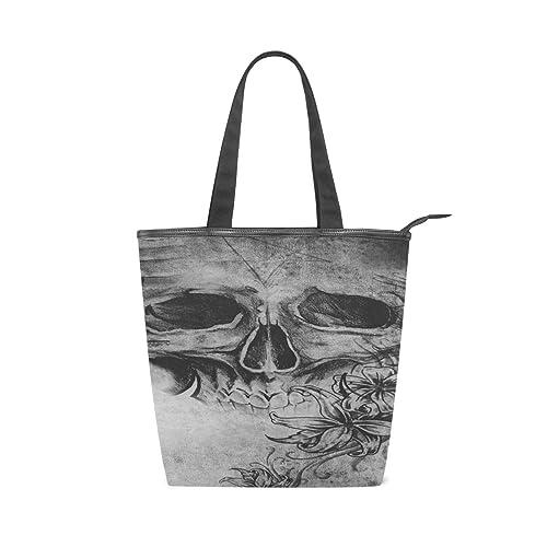 Mnsruu 304402208 - Bolso de lona para la playa, diseño de tatuaje ...