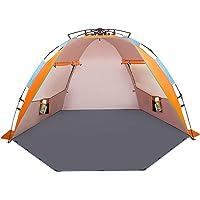 Oileus X-Large 4 Person Beach Tent Sun Shelter Deals