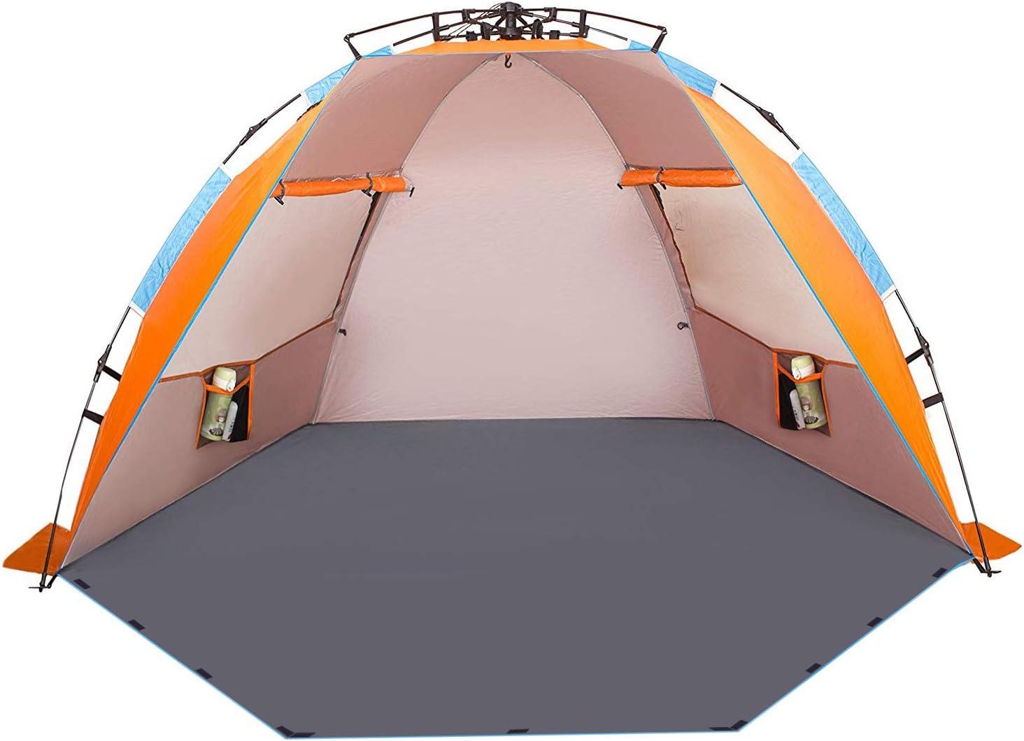 Oileus X-Large 4人沙滩帐篷太阳庇护所