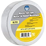 "Intertape Polymer Group MF2100 Silver ALF Butyl Mastic Foil Tape, 1.88"" × 100'"