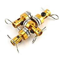 TAOHOU 4 stücke Metall Magnet Magnetische Stealth RC Car Shell Spalte für 1:10 Traxxas Hsp Gold