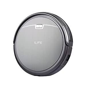 ILIFE A4 Robot Vacuum Cleaner, Titanium Gray (California)