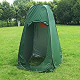David Cartier 2016 POP Up Portable Tent Pod Tent Camping Shower Toilet Changing Room Navy Green+CARRY BAG Product ID: 605760793942