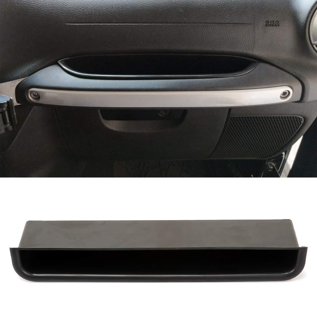 atti Jeep Wrangler JK 2007-2010 Deposito e finitura auto Auto passeggero anteriore Maniglia bagagli Bag Auto Storage Box Multi-usa gli attrezzi Organizzatore Scatole