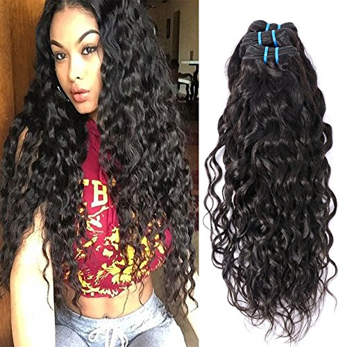 wet and wavy human hair braiding - 3