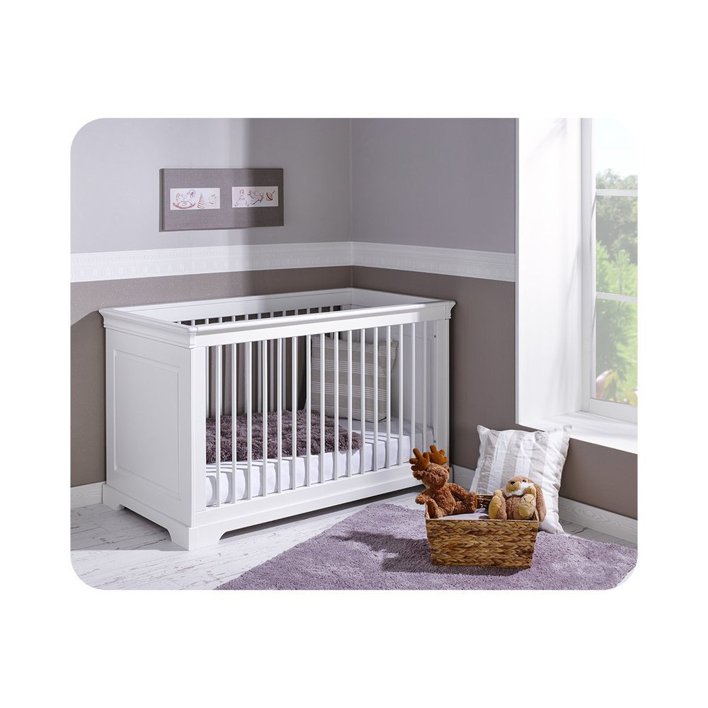 Babybett Mel weiß 70x140cm