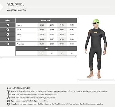 Arena 1A629- Traje de triatlón para hombre, neopreno, negro ...