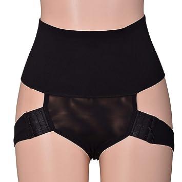 Elastic Bandage High Waist Body Shaper Butt Lifter Waist Trainer Women  Tummy Control Slimming Underwear Enhancer 6a1052e3b