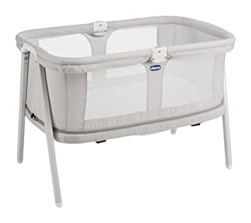 Chicco Lulla Go Zip - Cuna ultraligera transformable, 0-18 meses, 7 kg, colección 2017, color gris