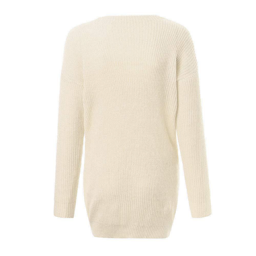 Dress for Women,Chaofanjiancai Womens Knitted Turtleneck Long Sleeve Loose Sweater Pullover Mini Dress