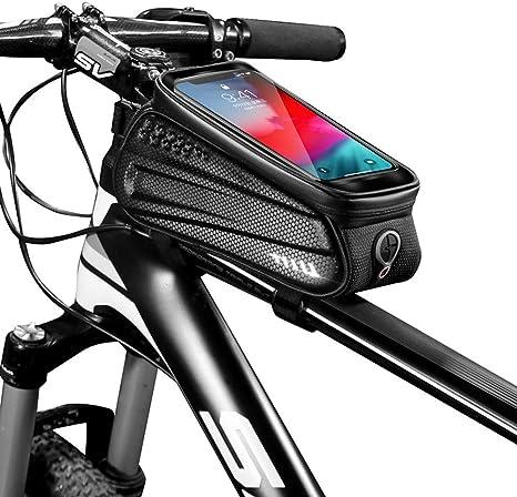 SJAPEX Bolsa Bicicleta Impermeable, Bike Frame Bag Bolsa Funda ...