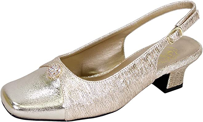 Wide Width Slingback Dress Shoes