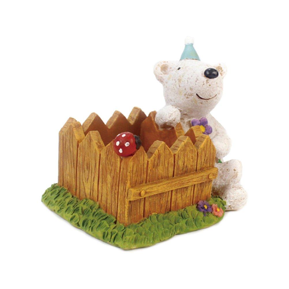 Amazon.com: VORCOOL Cartoon Bear Flower Pots Children\'s Room Desktop ...