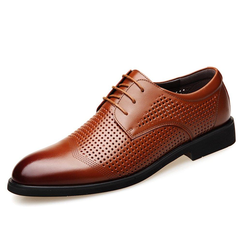 XIGUAFR Homme Chaussure en Cuir d'affaire Printemps Résistant à l'usure Chuassre Casual Basse Antidérapant